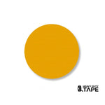 "2.7"" YELLOW Solid DOT - Pack of 100 - FloorTapeOutlet.com"