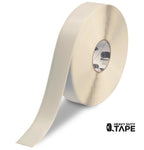 "2"" WHITE Solid Color Tape - 100' Roll - FloorTapeOutlet.com"