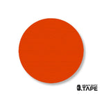 "3.5"" ORANGE Solid DOT (Standard Size) Pack of 100 - FloorTapeOutlet.com"