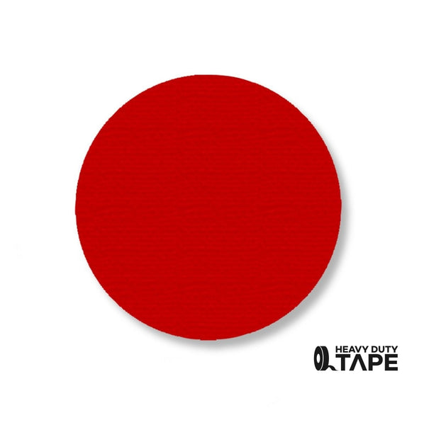 "3.5"" RED Solid DOT (Standard Size) Pack of 100 - FloorTapeOutlet.com"
