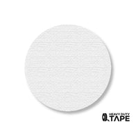 "3.5"" WHITE Solid DOT (Standard Size) Pack of 100 - FloorTapeOutlet.com"