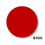 "3.75"" RED Solid DOT - Pack of 100 - FloorTapeOutlet.com"