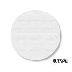 "3.75"" WHITE Solid DOT - Pack of 100 - FloorTapeOutlet.com"