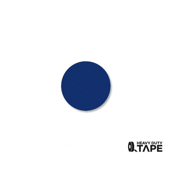 ".75"" BLUE Solid DOT - Pack of 200 - FloorTapeOutlet.com"