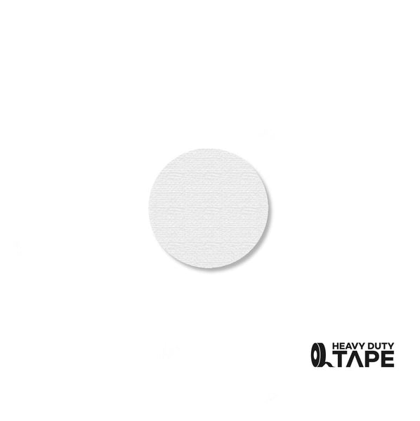 ".75"" WHITE Solid DOT - Pack of 200 - FloorTapeOutlet.com"