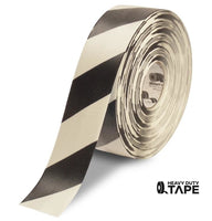 "3"" White Tape with Black Chevrons - 100' Roll - FloorTapeOutlet.com"