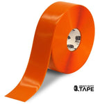 "3"" ORANGE Solid Color Tape - 100'  Roll - FloorTapeOutlet.com"