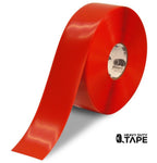 "3"" RED Solid Color Tape - 100'  Roll - FloorTapeOutlet.com"