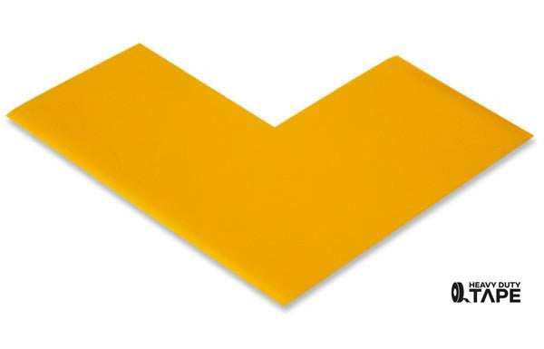 "3"" Wide Solid YELLOW Angle - Pack of 25 - FloorTapeOutlet.com"