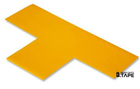 "3"" Wide Solid YELLOW T - Pack of 25 - FloorTapeOutlet.com"