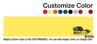 Customized - 4 Repeating Message Floor Tape 1 Roll