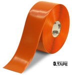 "4"" ORANGE Solid Color Tape - 100' Roll - FloorTapeOutlet.com"