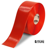 "4"" red floor marking tape"