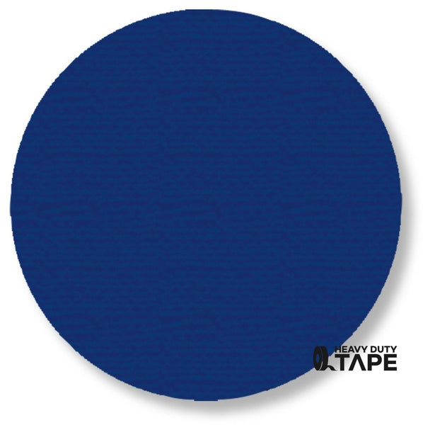 "5.7"" BLUE Solid DOT - Pack of 50 - FloorTapeOutlet.com"