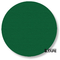 "5.7"" GREEN Solid DOT - Pack of 50 - FloorTapeOutlet.com"