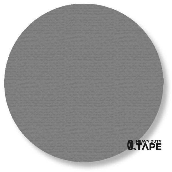 "5.7"" GRAY Solid DOT - Pack of 50 - FloorTapeOutlet.com"