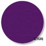 "5.7"" PURPLE Solid DOT - Pack of 50 - FloorTapeOutlet.com"