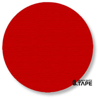 "5.7"" RED Solid DOT - Pack of 50 - FloorTapeOutlet.com"