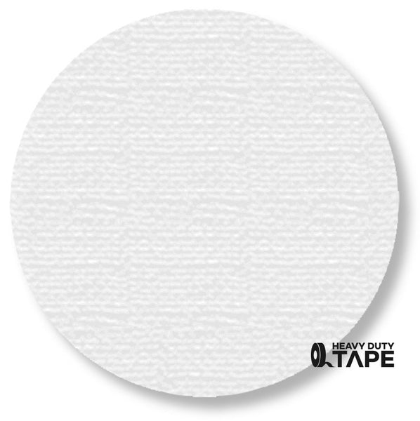 "5.7"" WHITE Solid DOT - Pack of 50 - FloorTapeOutlet.com"