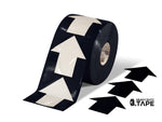 5.5 Wide Solid Black Arrow Roll 200 Arrows Product