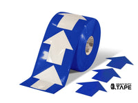5.5 Wide Solid Blue Arrow Roll 200 Arrows Product
