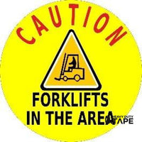 Caution Forklifts In The Area Product