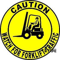 Caution Watch For Forklift Traffic Product
