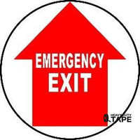 Emergency Exit - Red And White Product