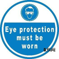 Eye Protection Must Be Worn Product