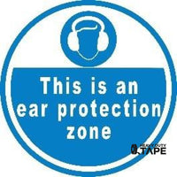 This Is An Ear Protection Zone Product
