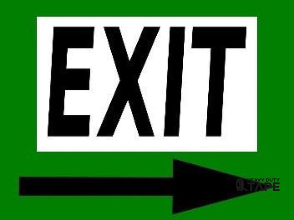 Exit Right 24X18 - Green Product