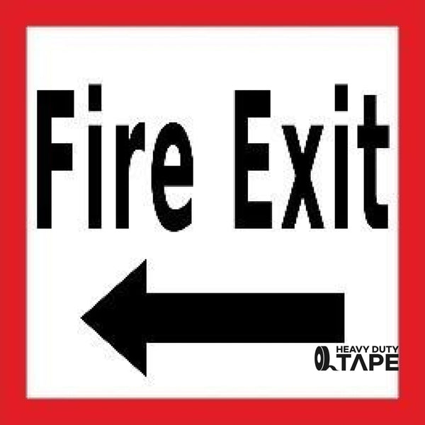 Fire Exit Left 24X24 Product