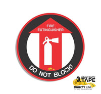 Fire Extinguisher Do Not Block 24 Product