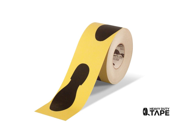 6 Wide Foot Print Floor Tape - 100 Roll Product