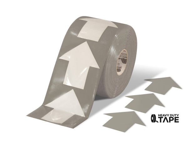 5.5 Wide Solid Gray Arrow Roll 200 Arrows Product