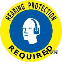 Hearing Protection Required - Yellow/blue Product
