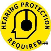 Hearing Protection Required - Yellow/black Product