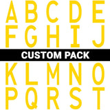 "Die Cut Location Markers - 4.5"" x 10"" - Custom Pack of 50"