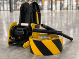 "The Mighty Liner Floor Tape Applicator for 2"", 3"", and 4"" wide tape"