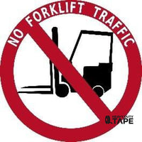 No Forklift Traffic Product