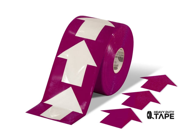 5.5 Wide Solid Purple Arrow Roll 200 Arrows Product