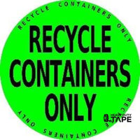Recycle Containers Only Product