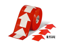 5.5 Wide Solid Red Arrow Roll 200 Arrows Product