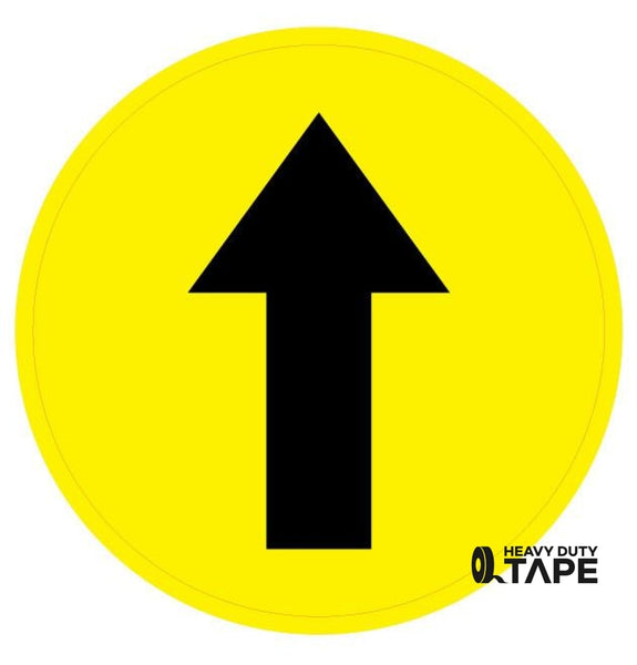 Directional Arrow Sign - FloorTapeOutlet.com