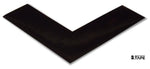 "2"" Wide Solid BLACK Angle - Pack of 25 - FloorTapeOutlet.com"
