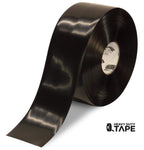 "4"" BLACK Solid Color Tape - 100' Roll - FloorTapeOutlet.com"