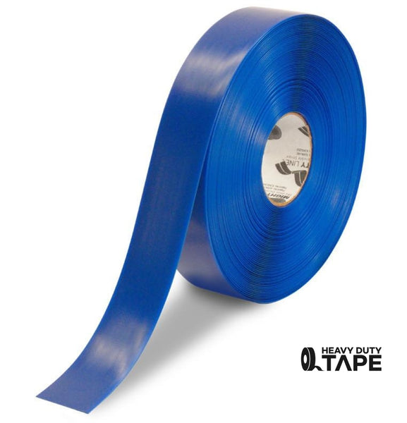 "2"" BLUE Solid Color Tape - 100'  Roll - FloorTapeOutlet.com"