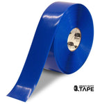 "3"" BLUE Solid Color Tape - 100'  Roll - FloorTapeOutlet.com"