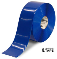 "4"" BLUE Solid Color Tape - 100'  Roll - FloorTapeOutlet.com"