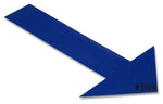 Solid BLUE Arrow - Pack of 50 - FloorTapeOutlet.com